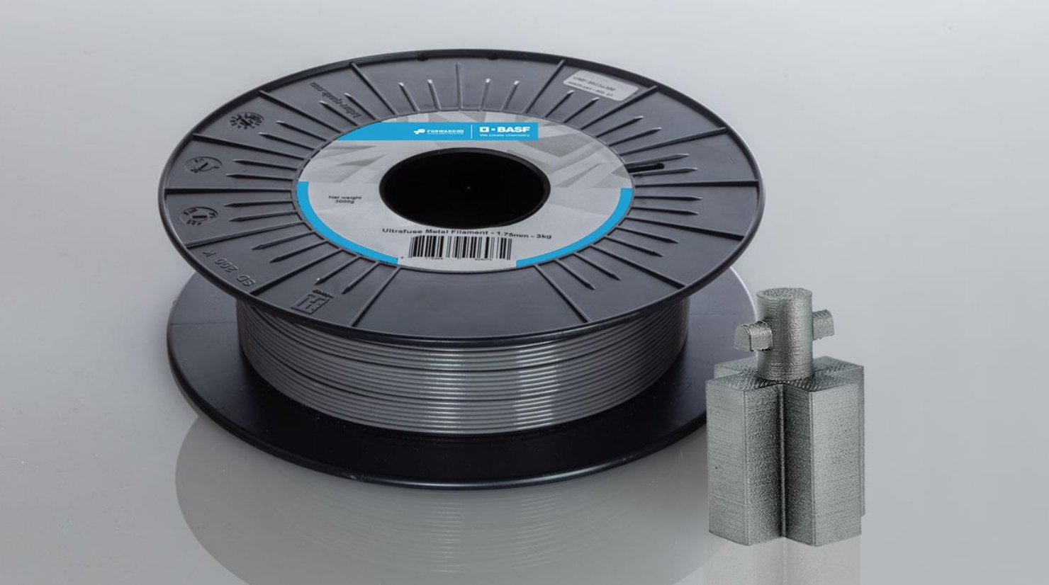 Ultrafuse 17-4 PH filament. Photo via BASF.