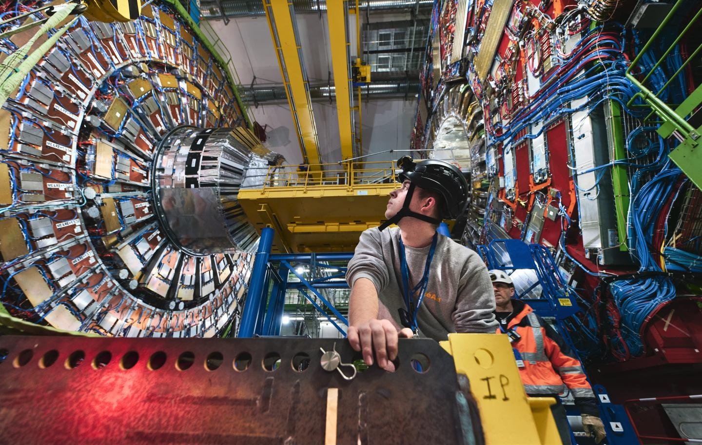 The Large Hadron Collider. Photo via CERN.