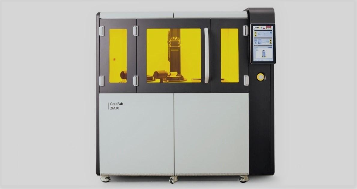 The Lithoz CeraFab Multi 2M30 3D printer. Photo via Lithoz.