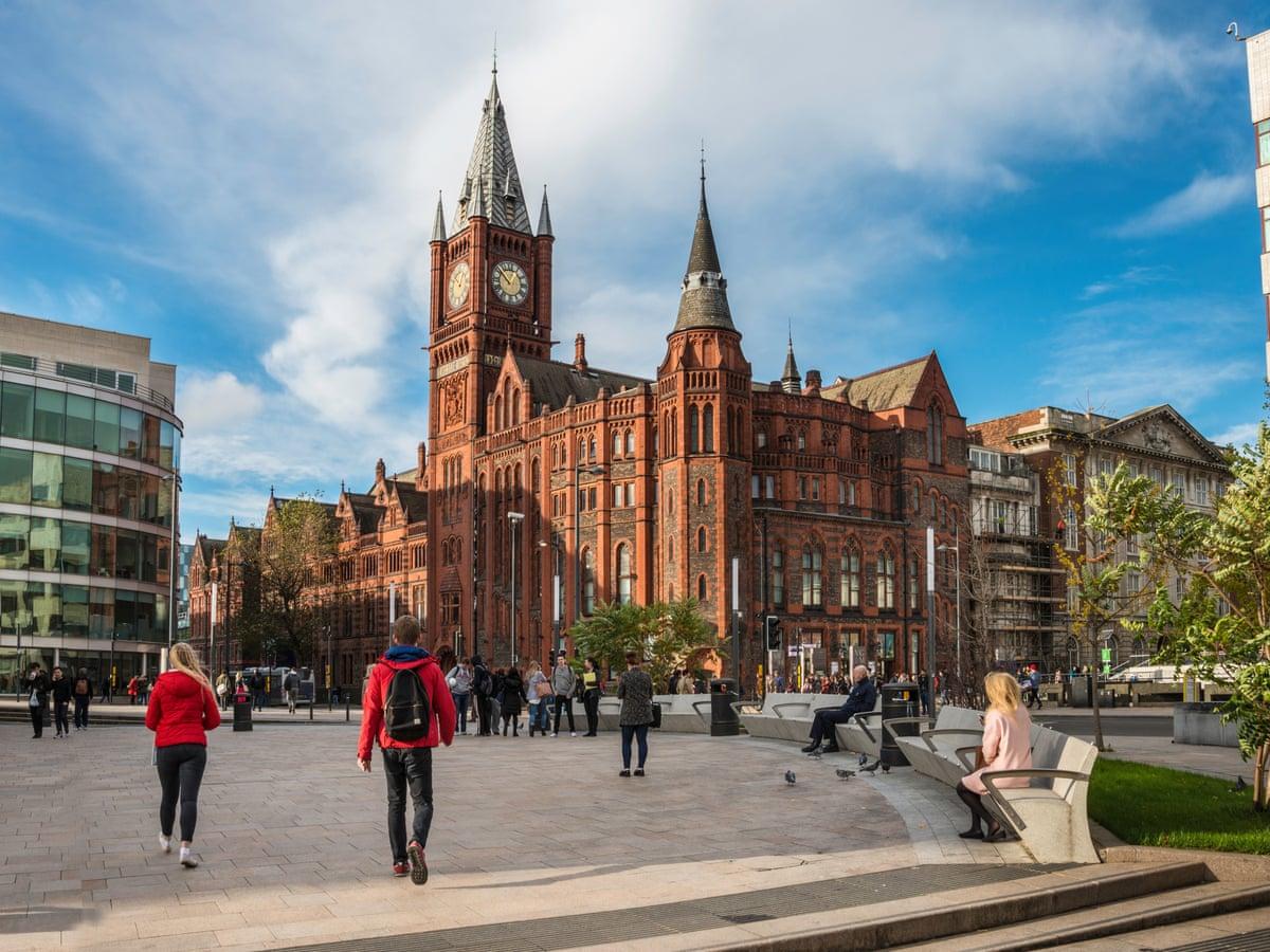 The University of Liverpool campus. Photo via University of Liverpool.
