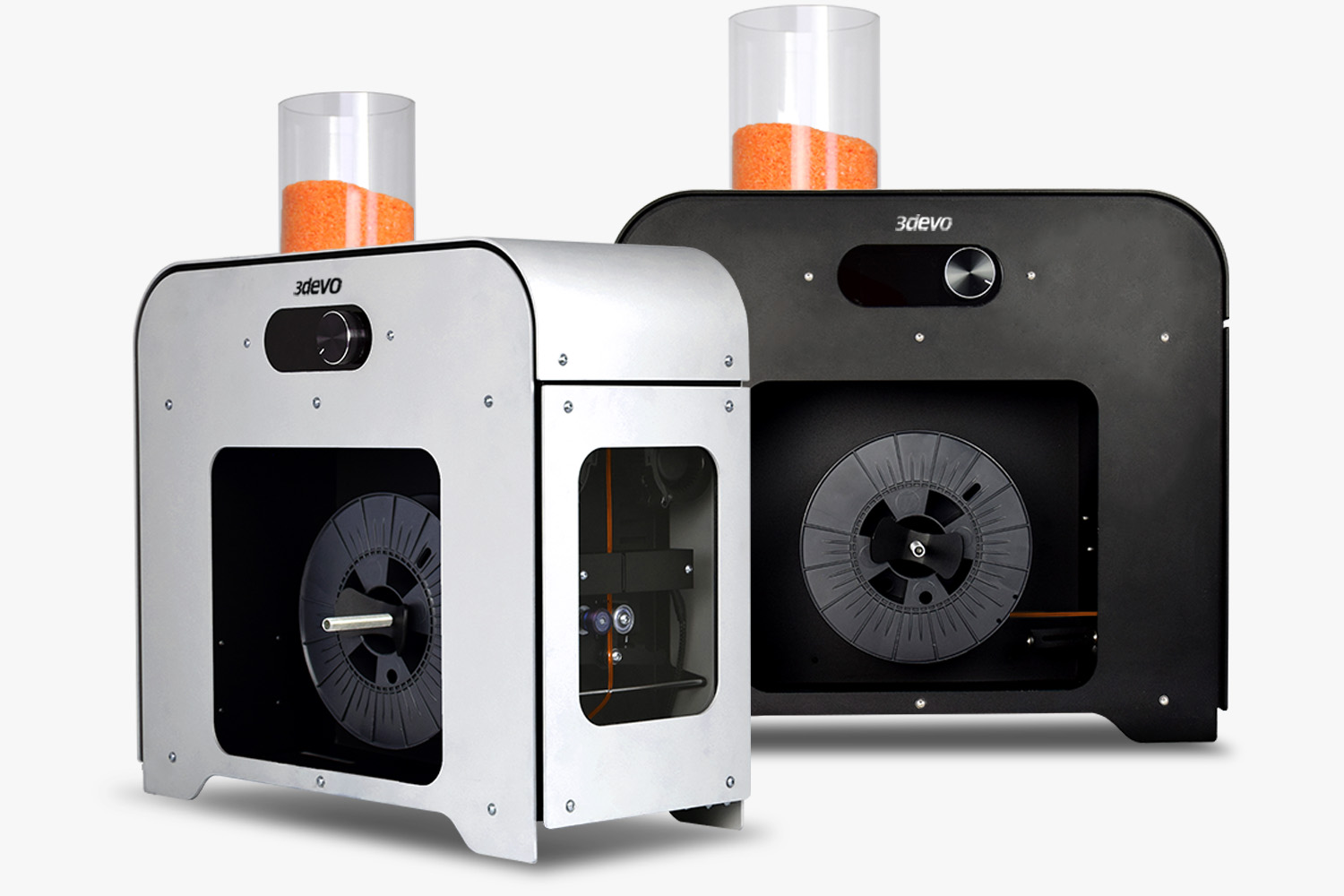 3deo has launched a new compound that's optimized for purging its range of filament makers (pictured). Image via 3deo.