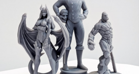 Shop3D's specializes in the production of miniatures, token items and tabletop terrain. Image via Shop3D.