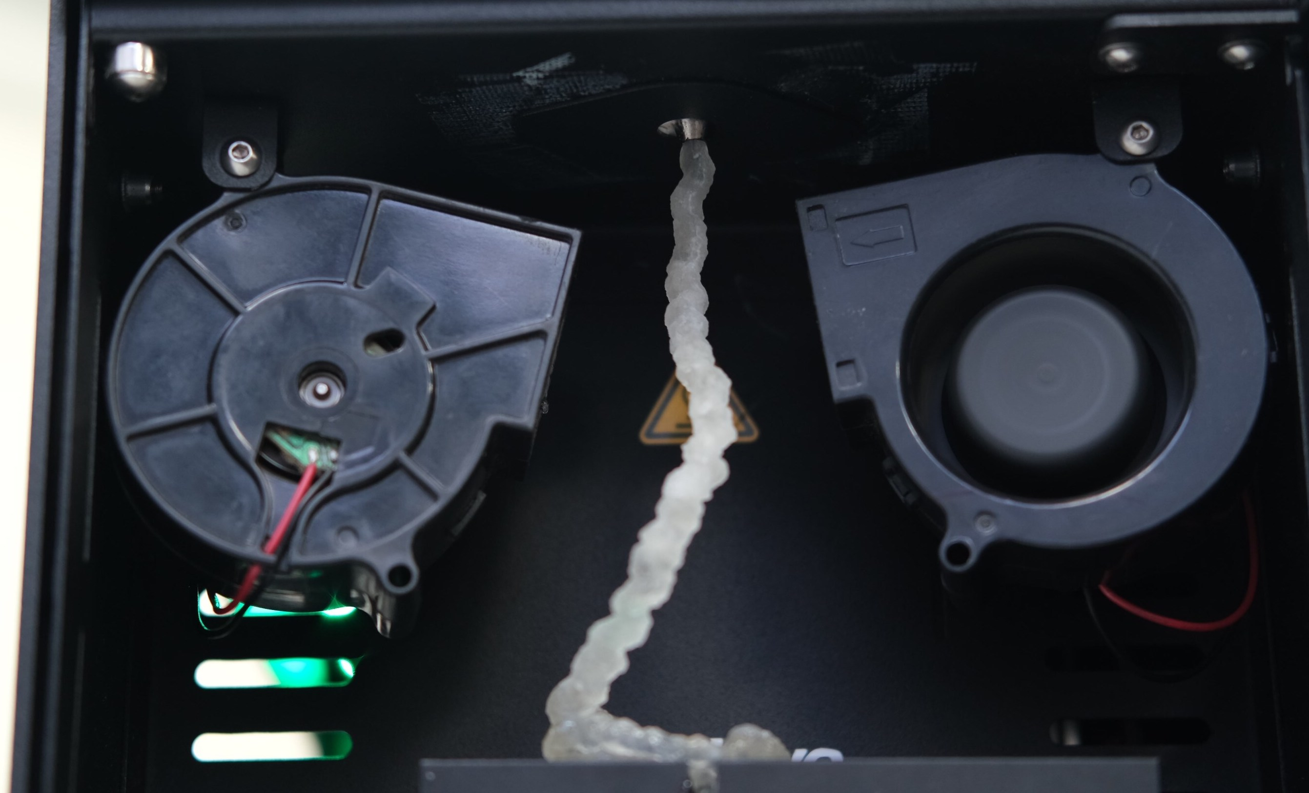 Cleaning a filament maker's extrusion barrel between jobs is vital to preventing any material cross-contamination. Photo via 3devo.