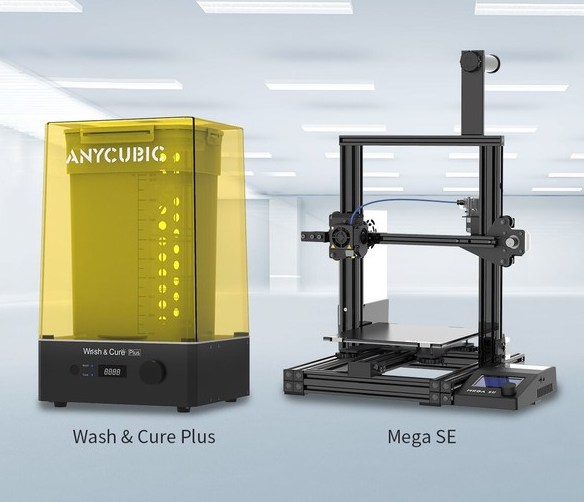 Featured image shows Anycubic's upcoming Wash & Cure Plus and Mega SE systems. Image via Anycubic.