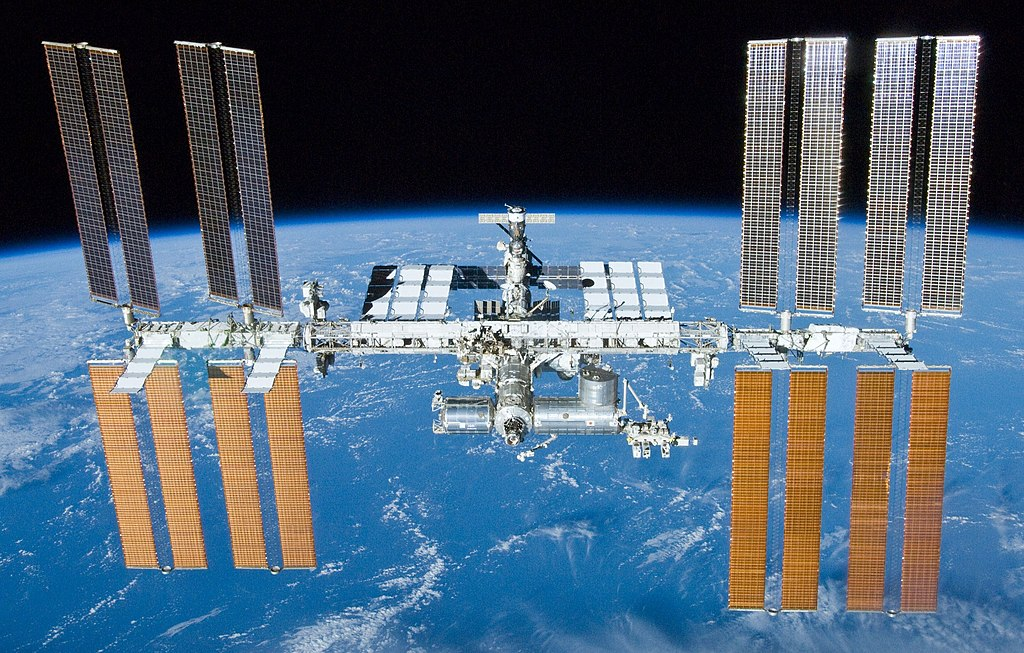 The International Space Station. Photo via NASA.