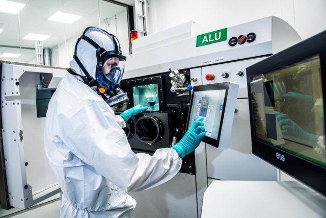 AMEXCI is hiring for an Innovation Manager to work at its Sweden-based 3D printing facility. Photo via AMEXCI.