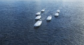 Visions of future shipping - CONVOY. Image via Wärtsilä.