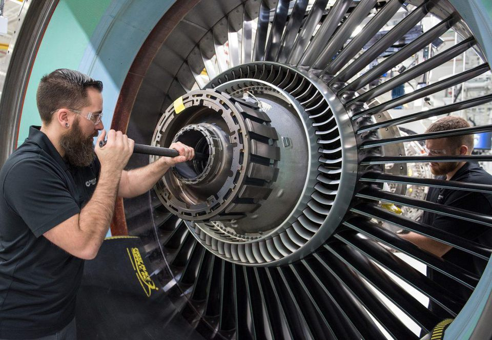 Gas turbine engines experience extremely high temperatures and stresses. Photo via Pratt & Whitney.