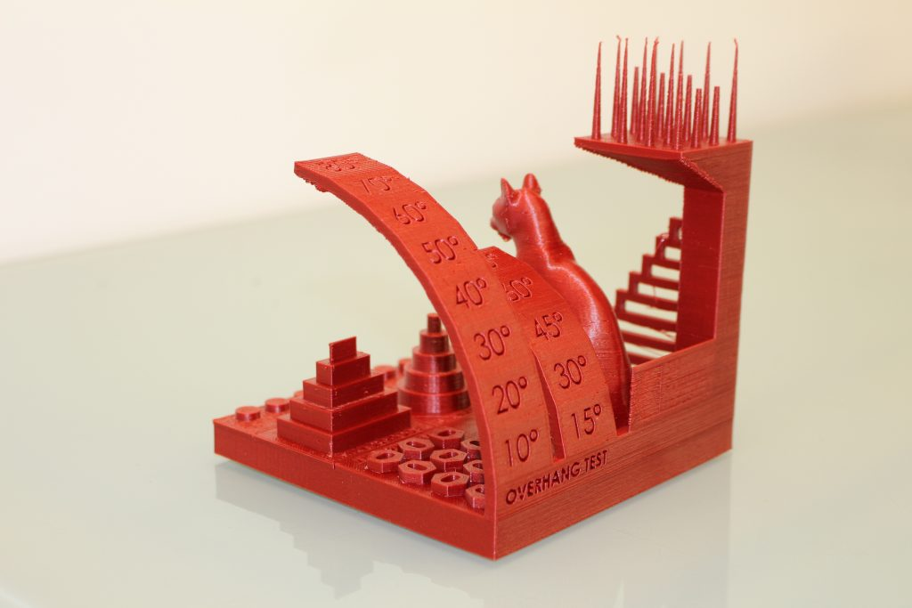 The 3DPI benchmarking model. Photo by 3D Printing Industry.