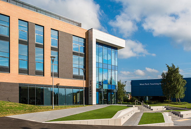 Loughborough University was among the founding universities. Photo via Loughborough University.