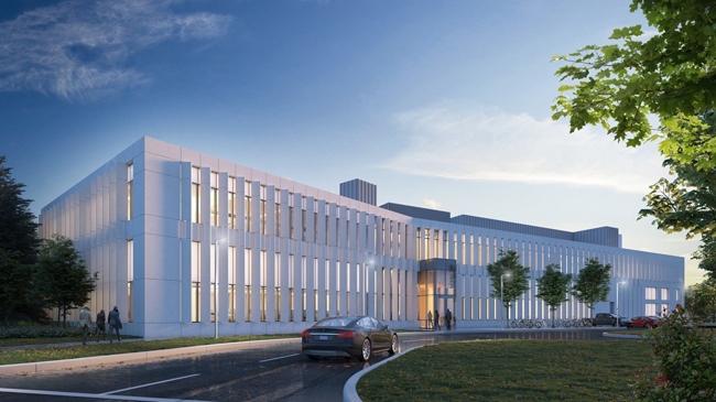 The NRC's new research facility in Mississauga. Photo via NRC.