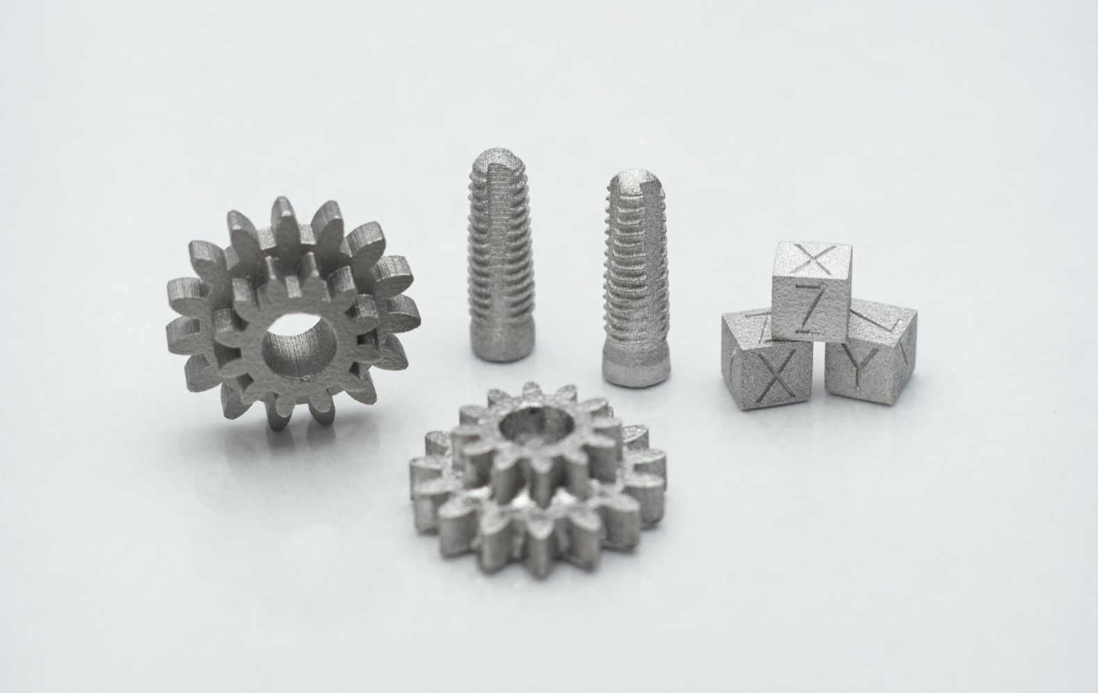 Metal parts printed on the Hammer Lab35 metal 3D printer. Image by Incus GmbH.