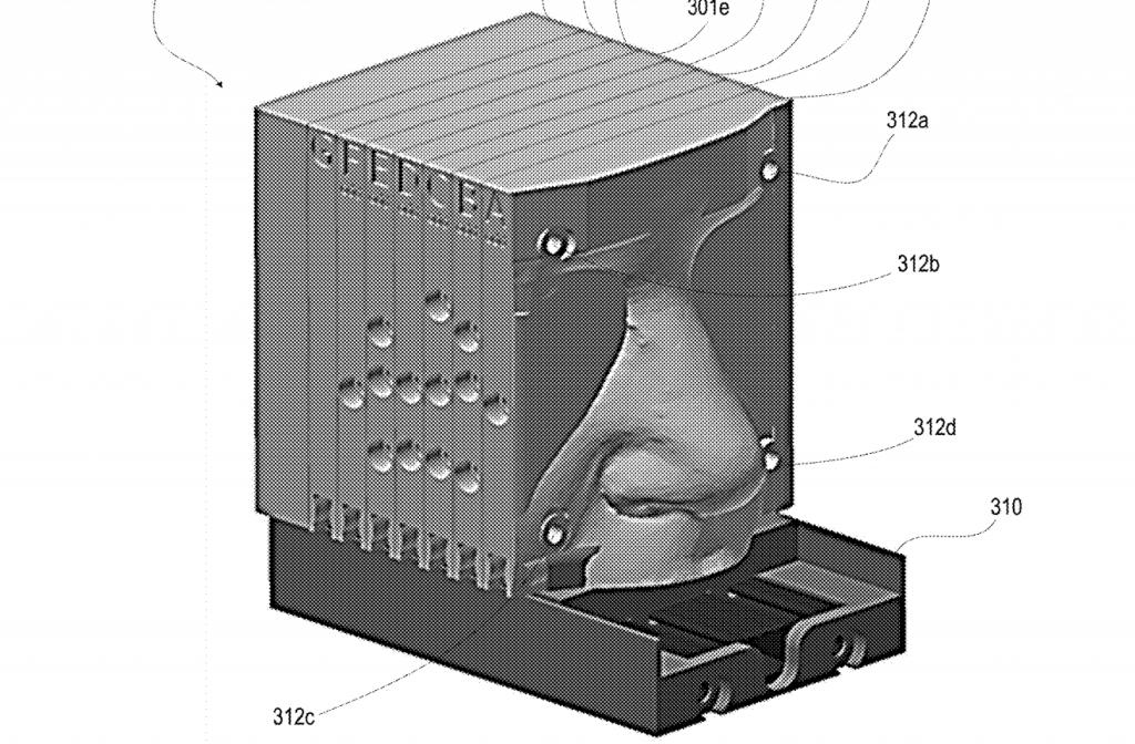 The 3D printed nose simulator. Image via U.S. AFRL.