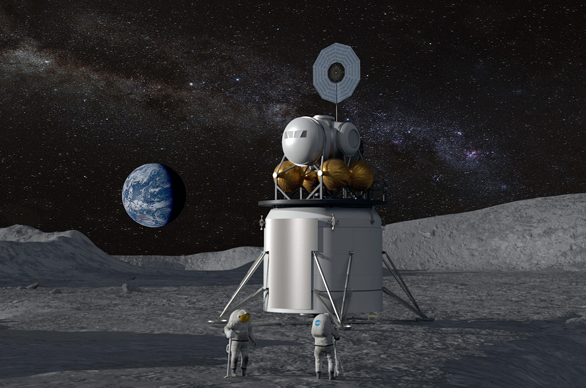The Artemis program will see astronauts back on the Moon by 2024. Image via NASA.