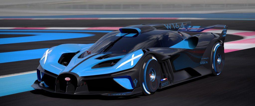The Bugatti Bolide. Image via Bugatti.