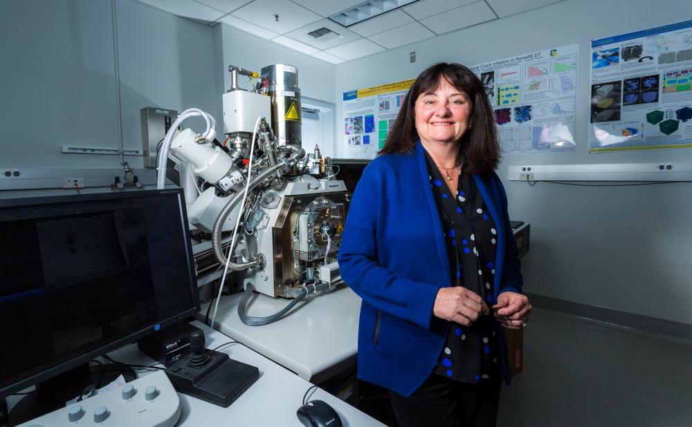 Tresa Pollock, a professor of materials and associate dean of the College of Engineering at UC Santa Barbara, led the project. Photo via UC Santa Barbara.