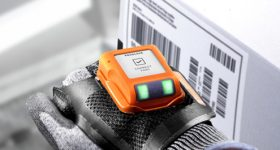 Featured image shows ProGlove's latest Display 3D printed wearable scanner. Photo via ProGlove.