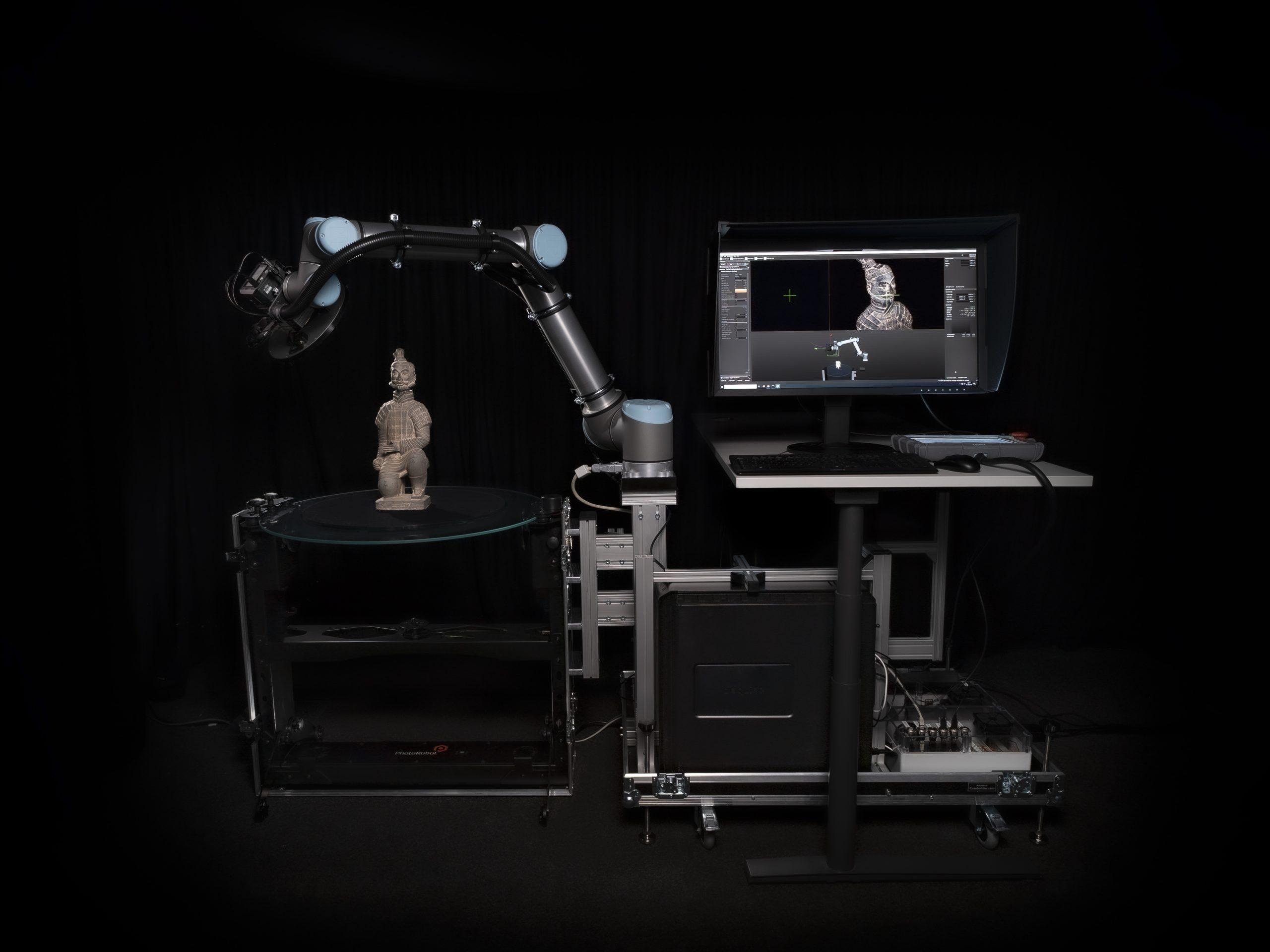 Fraunhofer IGD's CultArm3D automated scanner.
