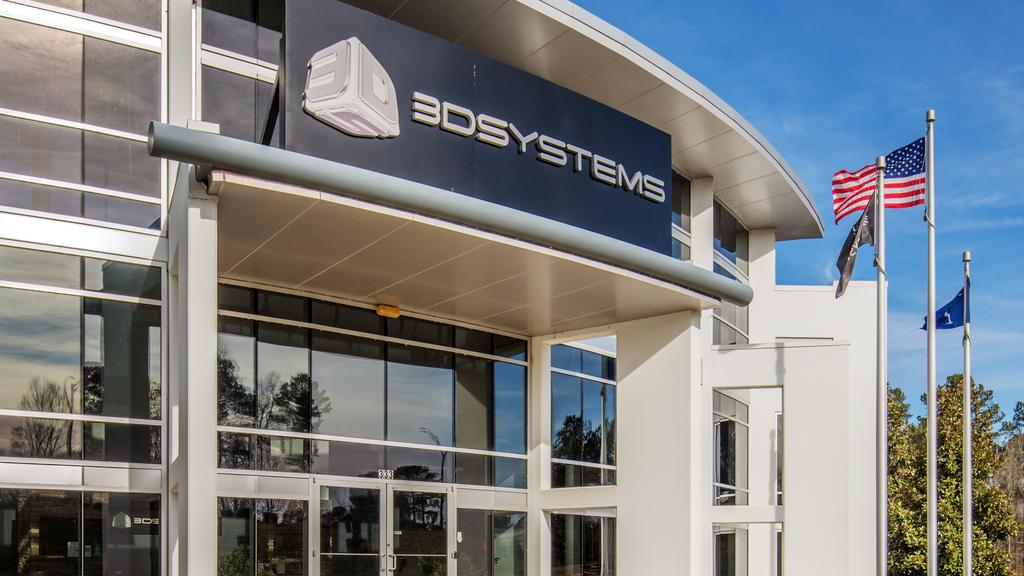 3D Systems' headquarters in Rock Hill, South Carolina. Photo via CBRE Group.