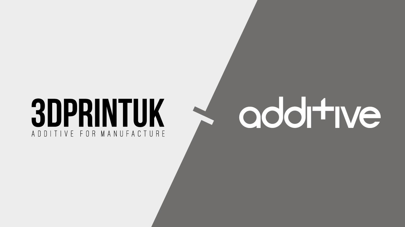3DPRINTUK and Additive logos.