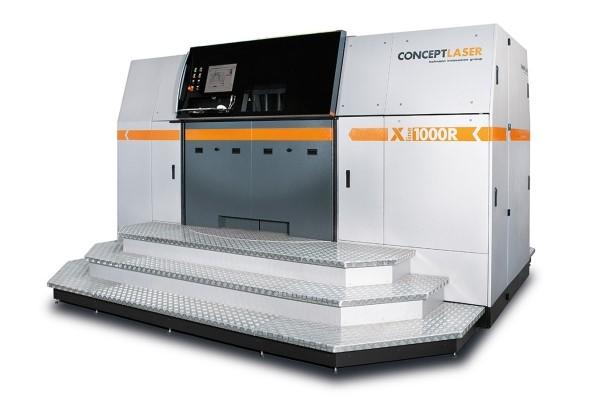 A Concept Laser X Line 1000R 3D printer. Photo via Concept Laser.