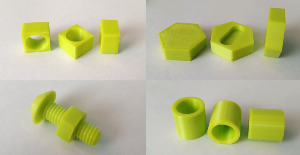 Additional print tests on the LulzBot TAZ Workhorse. Photos by 3D Printing Industry.