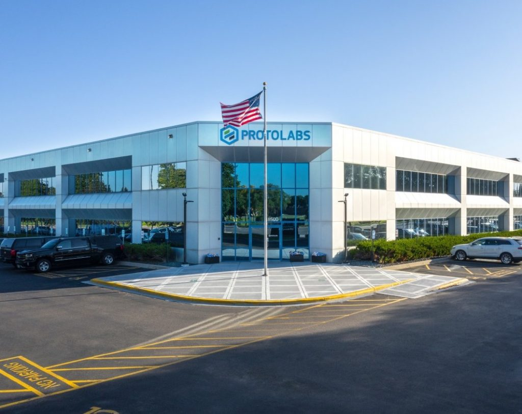 An image of Protolabs HQ in Minnesota