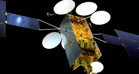 The Eutelsat Nero series satellite.