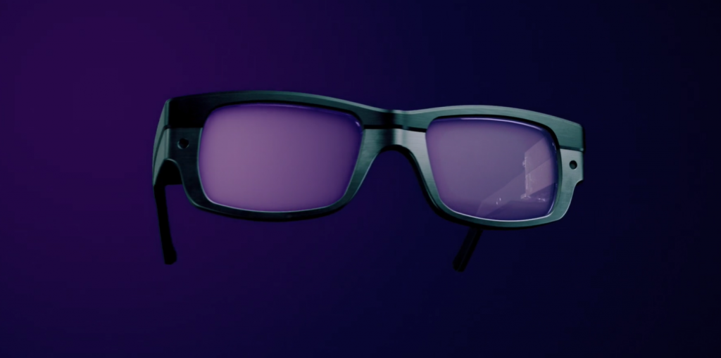 The lens modules will compatible with standard eyewear frames. Image via WaveOptics.