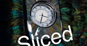 Sliced logo on an image of a Rolls-Royce Phantom dashboard. Photo via Nature Squared.