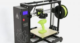 The LulzBot TAZ Workhorse 3D printer. Photo via LulzBot.