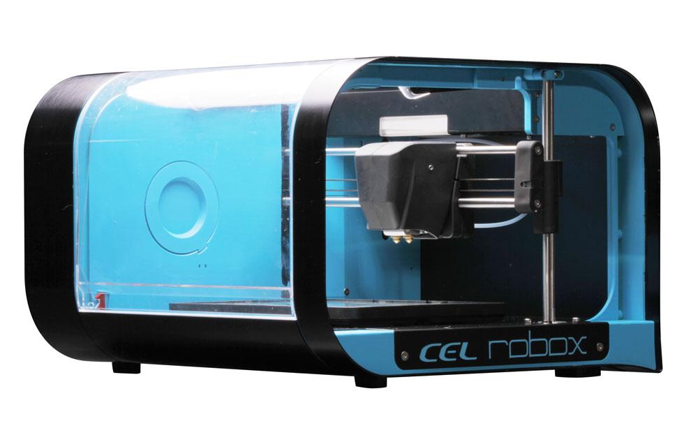 The original Robox 3D printer by CEL. Photo via CEL-UK.