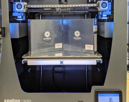 An image of the BCN3D Epsilon W50 3D printer.