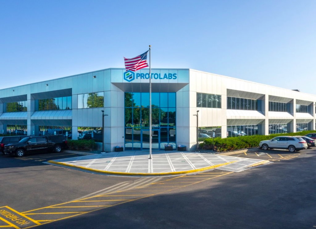 Protolabs' Minnesota HQ.