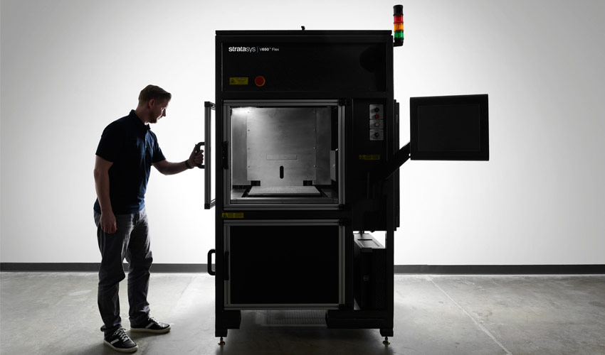 The Stratasys V650 Flex. Photo via Stratasys.