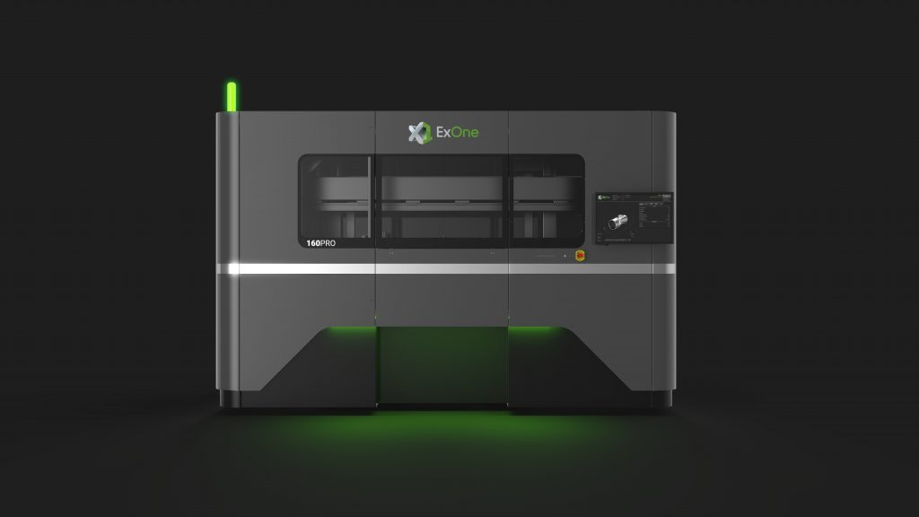 The new X1 160Pro 3D printer. Photo via ExOne.