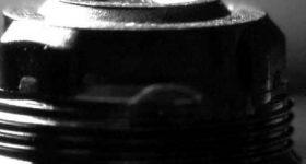 A smartphone camera lens.