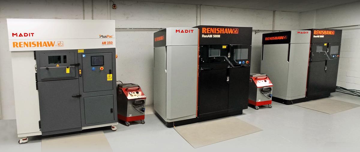 Renishaw systems at MADIT Metal's facility. Photo via Renishaw.