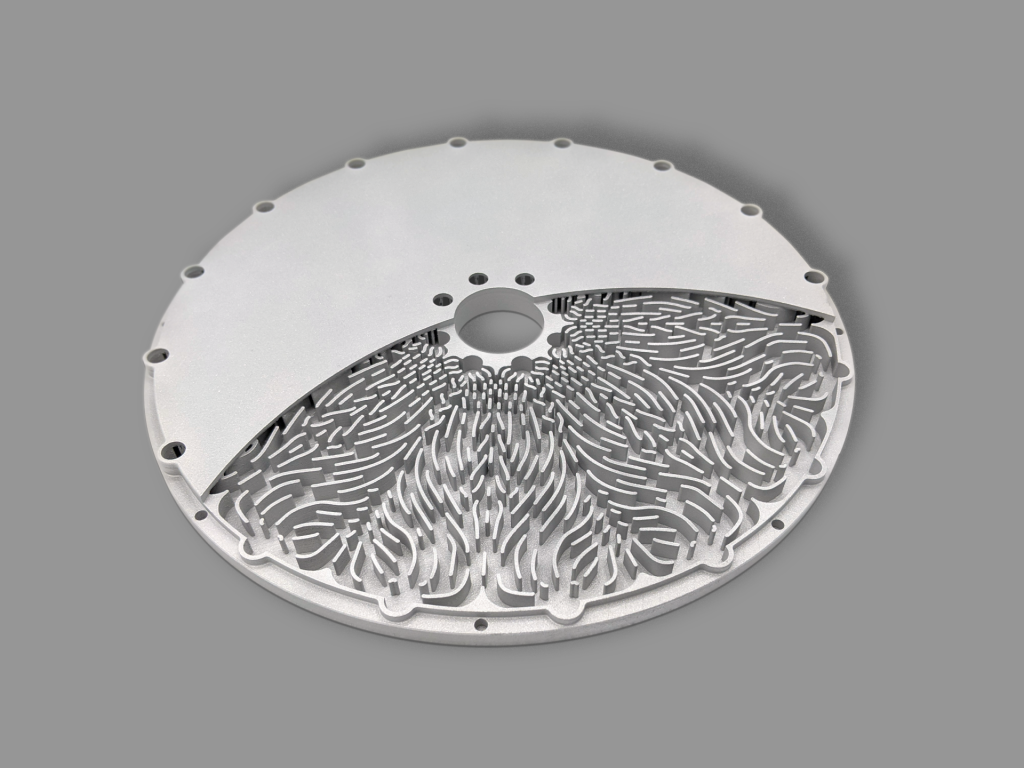 3D Systems' DMP technology enables wafer tooling with complex internal geometries. Photo via 3D Systems.