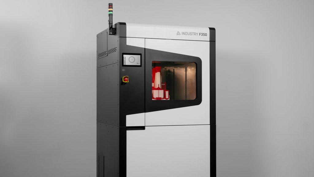 The INDUSTRY F350 3D printer. Photo via 3DGence.