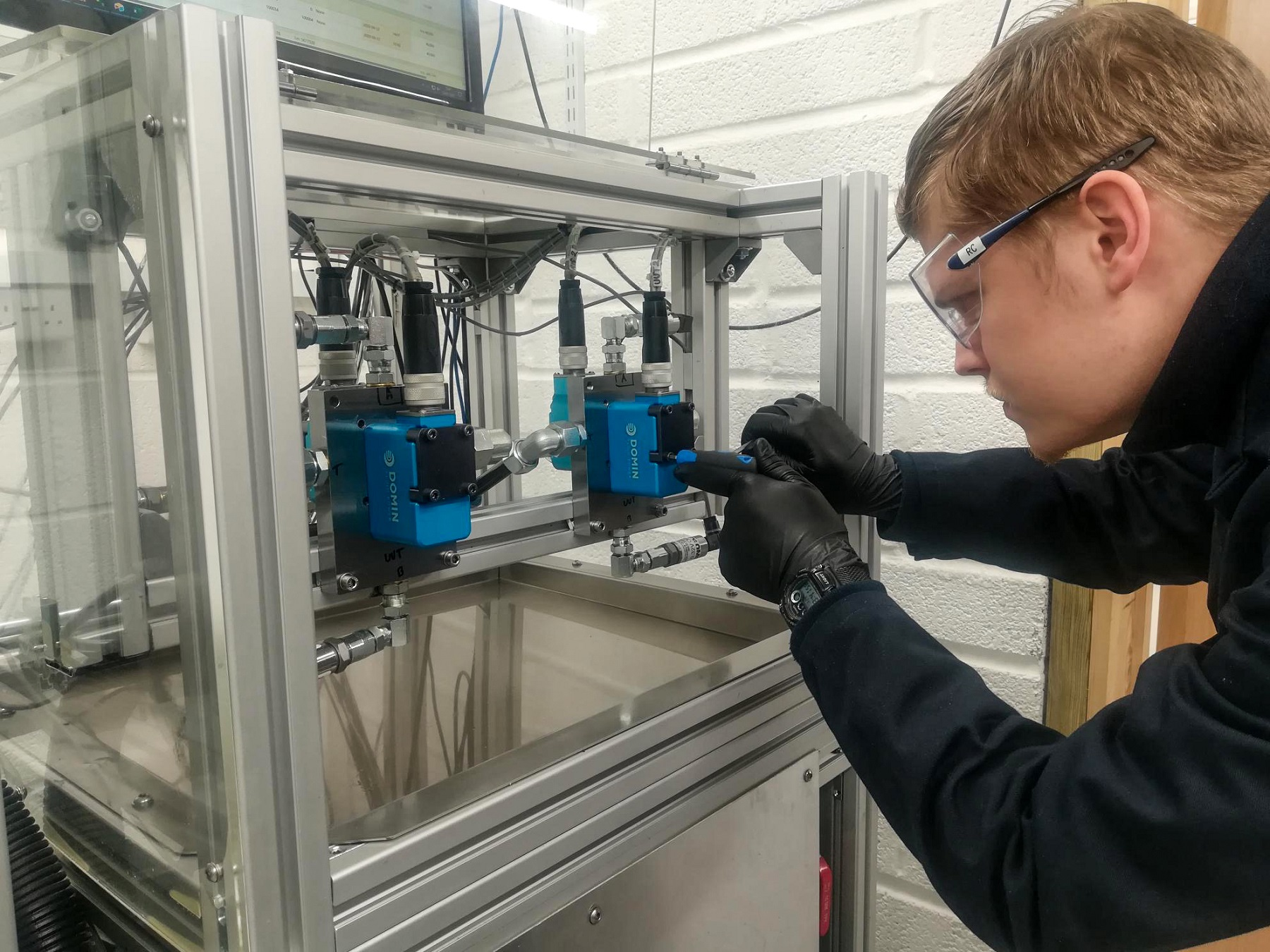 Renishaw's AM technology has enabled Domin to redesign and improve its servo valves. Photo via Renishaw.
