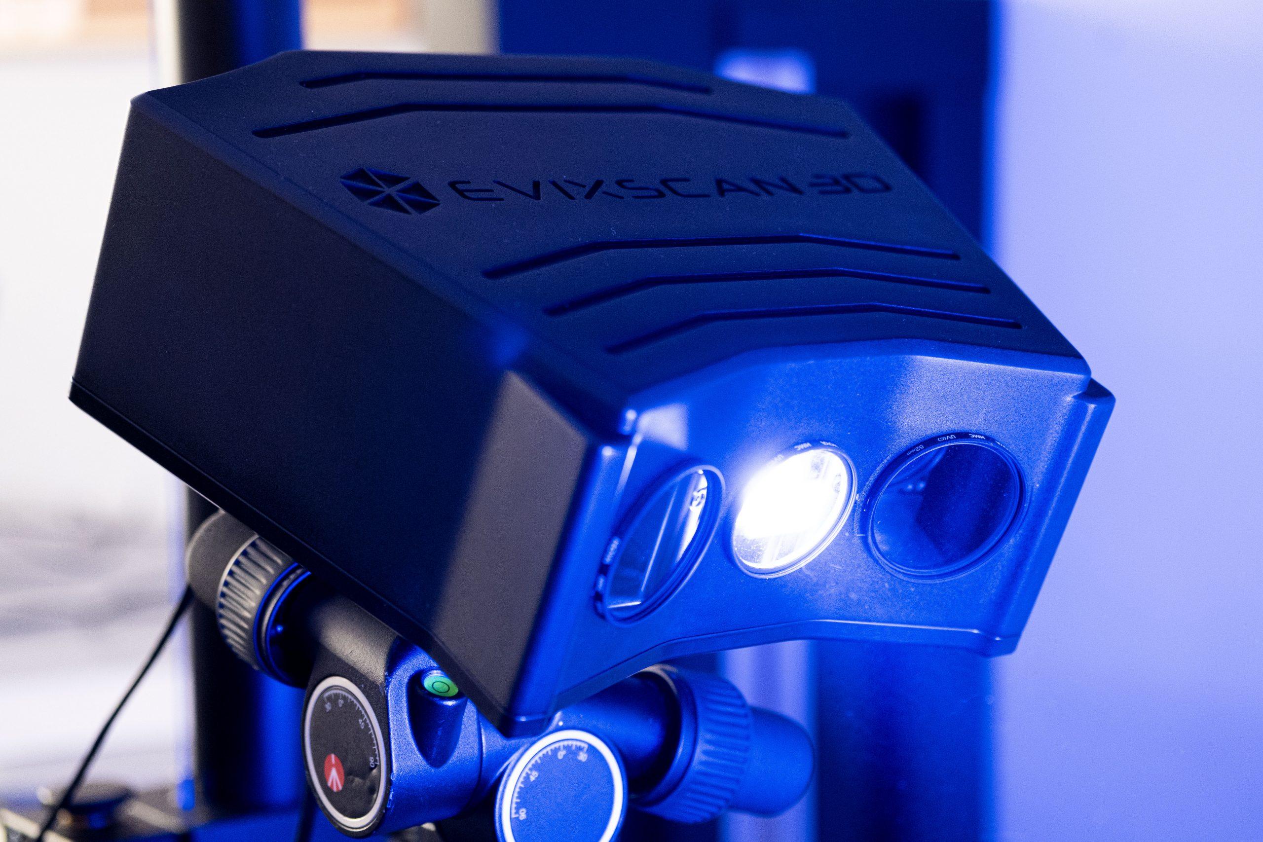 The eviXscan FinePrecision 3D scanner. Photo via Evatronix.