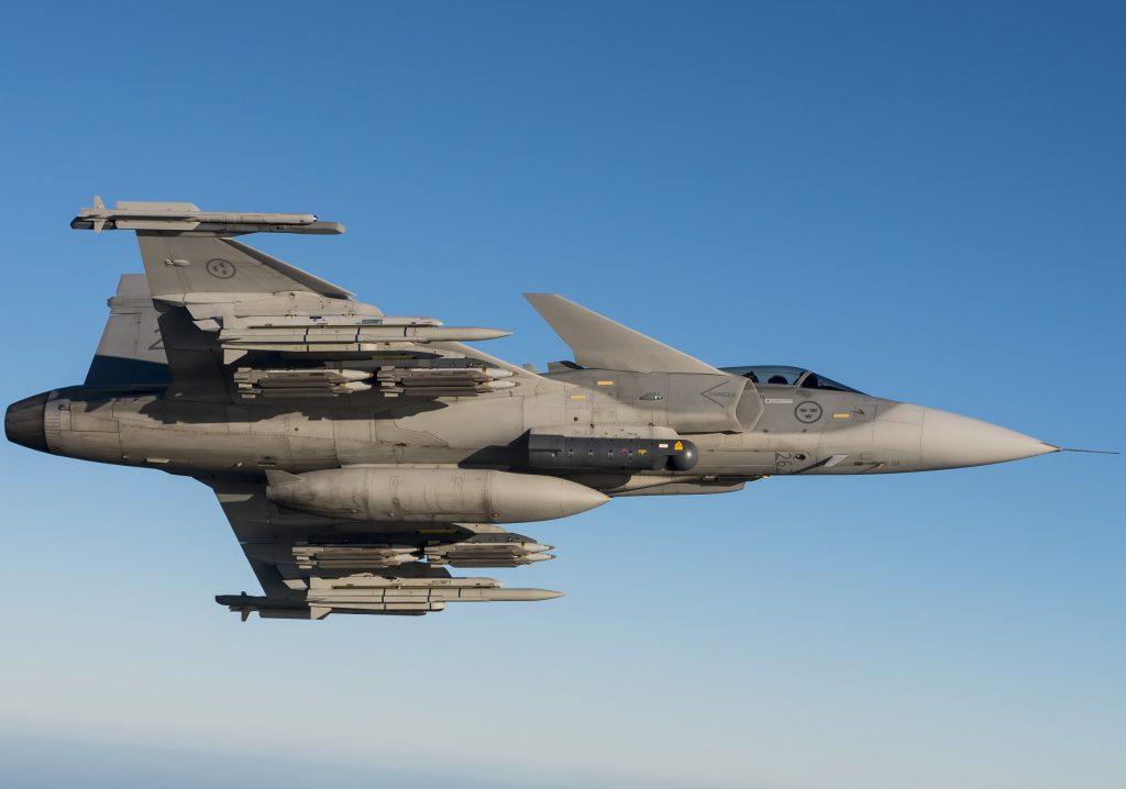 Saab's Gripen C/D fighter jet.