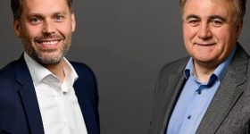 AM Ventures' Managing Partners Arno Held (left) and Johann Oberhofer (right).