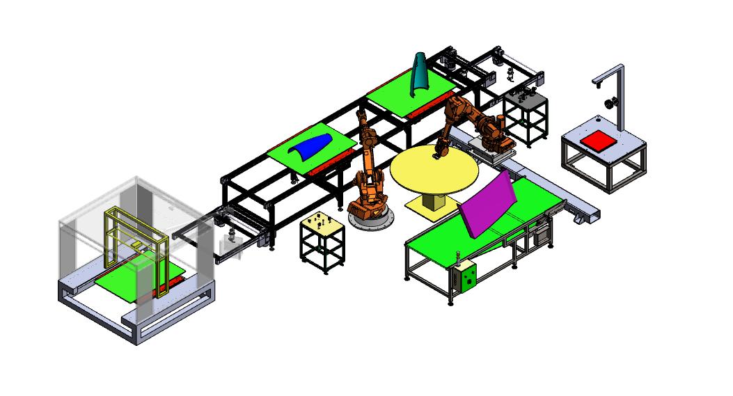 Design for the NOVUM pilot line.