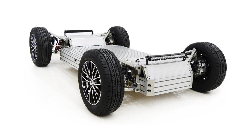 PIX designs and manufactures autonomous vehicle chassis products like the PIXLOOP. Image via PIX.