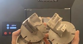 The ROBOZE 3D printed magnetic field sensor holders.