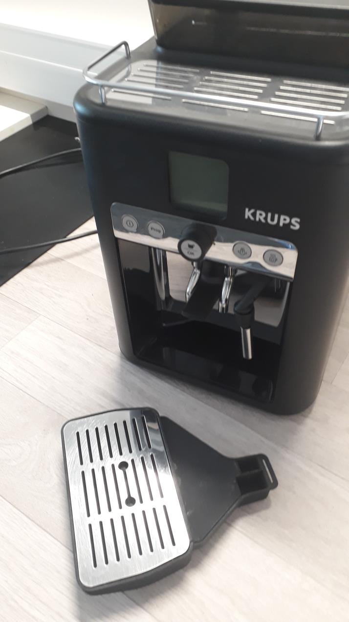 Ricoh 3D has produced a spare part for a Krups coffee machine. Photo via Ricoh 3D.