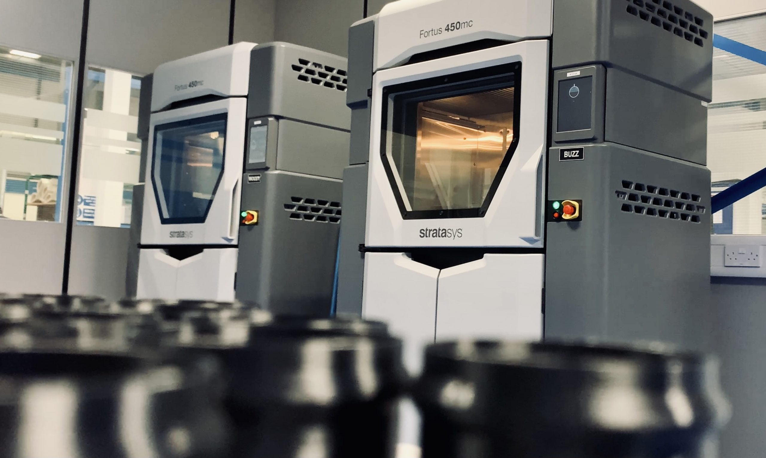 Having completed and approved the necessary qualification reports, Senior Aerospace BWT is now fully capable of 3D printing interior aircraft components to meet the needs of aircraft manufacturers. Photo via Stratasys.