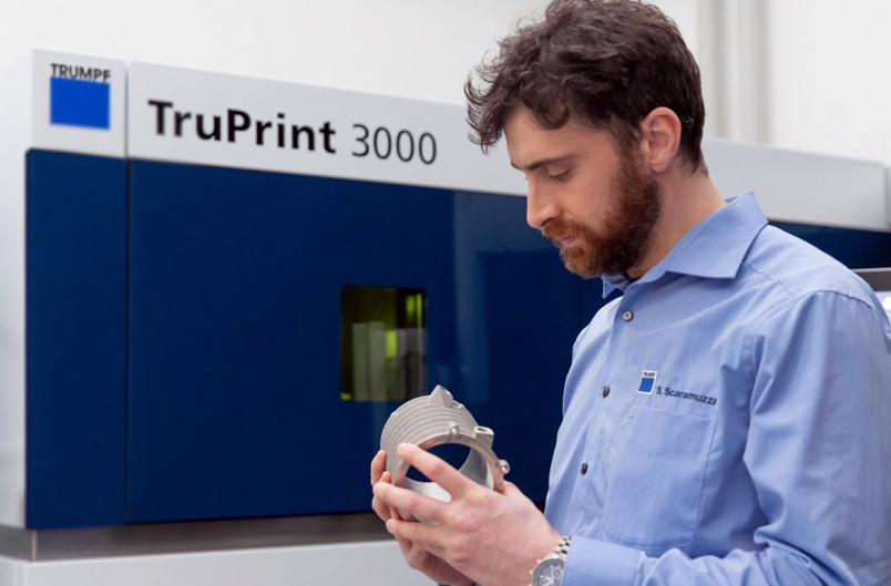 Trumpf's TruPrint 3000 3D printer. Photo via Trumpf.